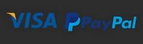 Paiement par Visa et PayPal